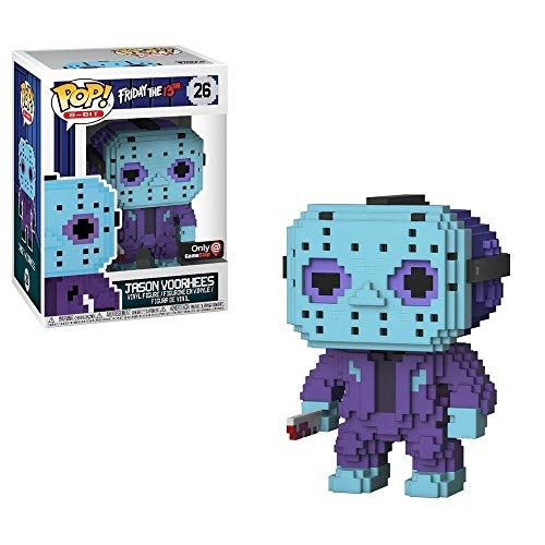 funko pop! 8 bits: viernes 13 - jason voorhees (nes colors)
