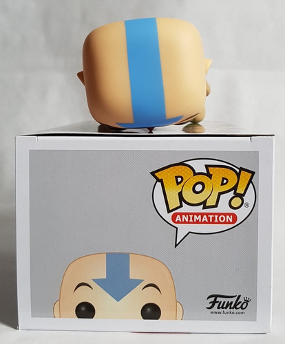 funko pop aang on airscooter avatar the last airbender