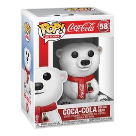 Funko Pop! Ad Icons: Coca-cola - Oso Polar  #58 Original.