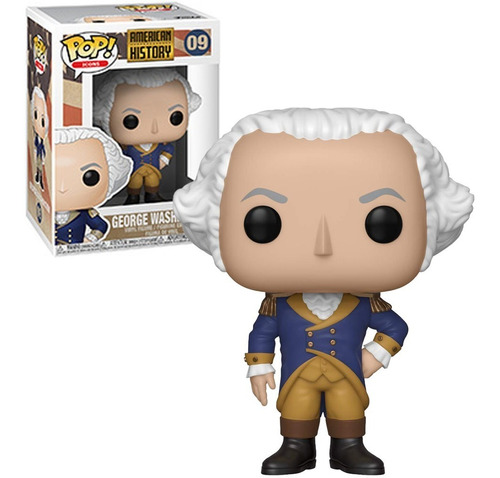 funko pop american history - george washinton #09 nfe
