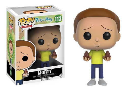 funko pop animation #113 rick and morty: morty nortoys