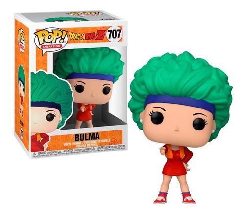 funko pop! animation #707 dragon ball z: bulma w/red outfit