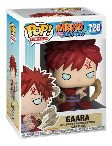 funko pop animation gaara naruto shippuden 728