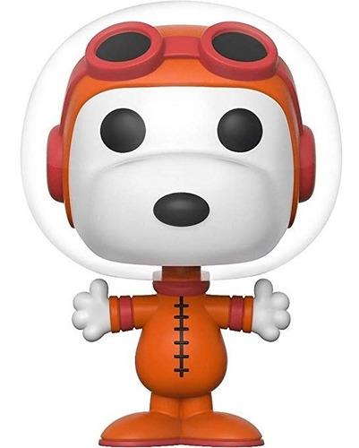 funko pop! animation: peanuts - astronaut snoopy n.577 sdcc