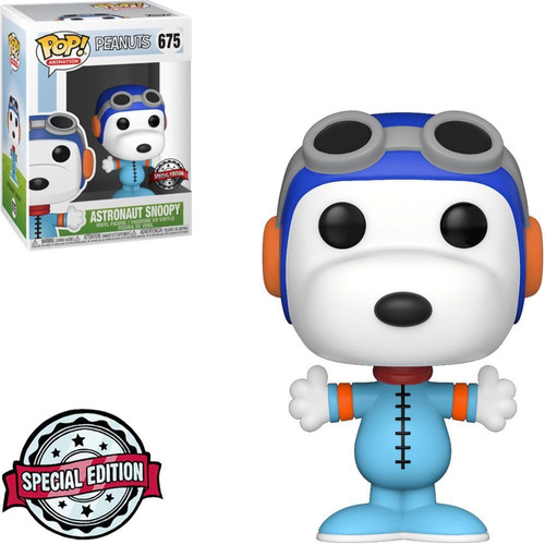 funko pop animation peanuts exclusive - astronaut snoopy 675