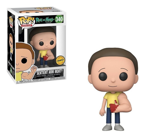 funko pop animation rick and morty sentient arm morty chase