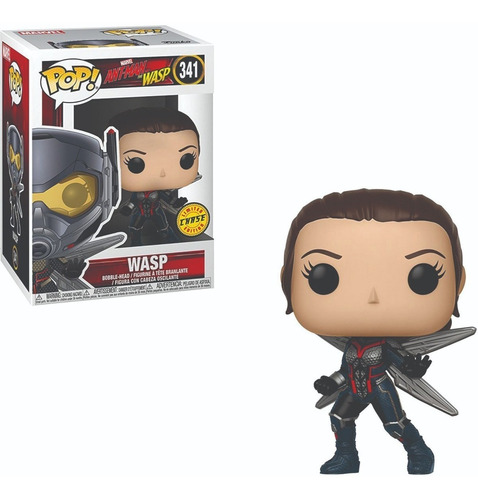 funko pop : ant man & the wasp - wasp #341 chase