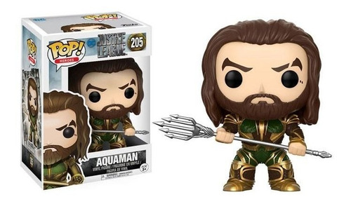 funko pop - aquaman (justice league) (205)
