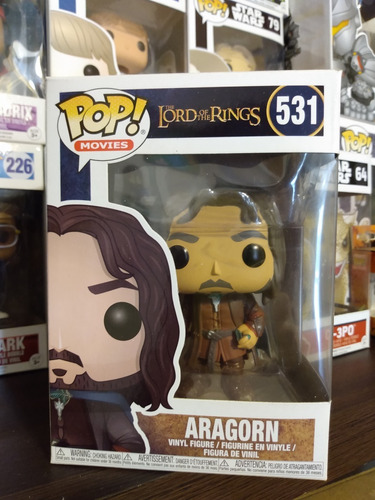 funko pop! aragorn 531- lord of the rings