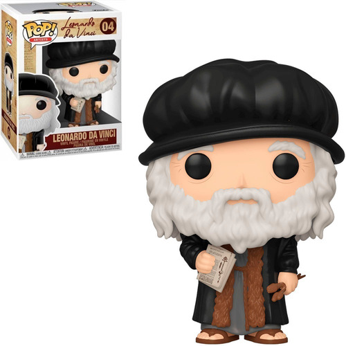 funko pop artists - leonardo da vinci 04 pintor