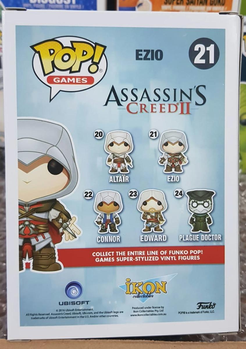 Funko Exclusive Ezio Eagle Vision Assassin/'s Creed  POP POP