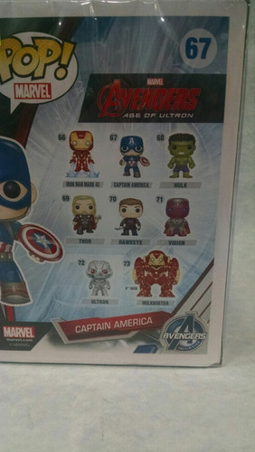 funko pop avengers captain america