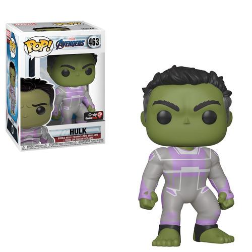 funko pop avengers endgame hulk #463 gamestop ex