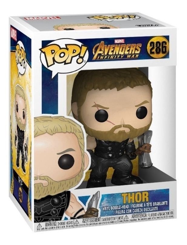 No 286 Marvel Avengers Infinity Guerre Thor Funko POP