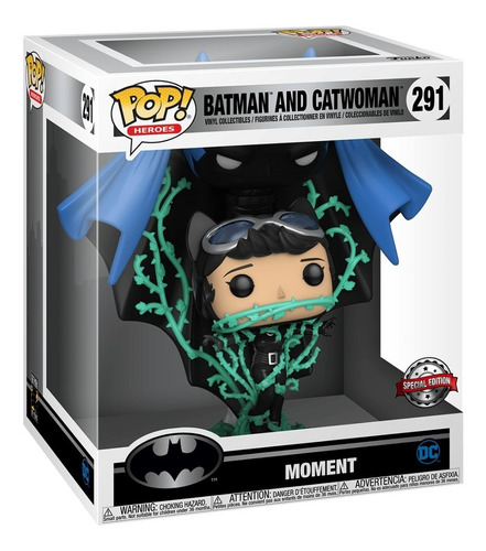 funko pop batman and catwoman 291 movie moments exclusive