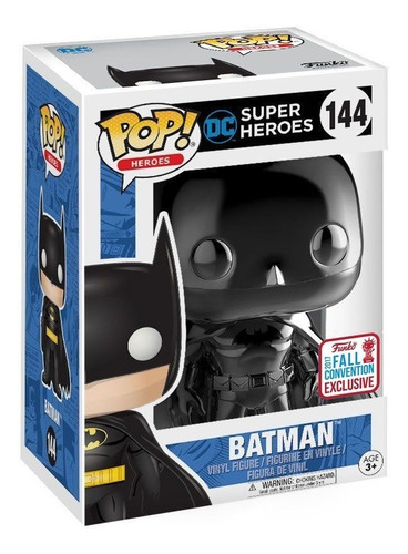 funko pop! batman black chrome exclusive nycc dc