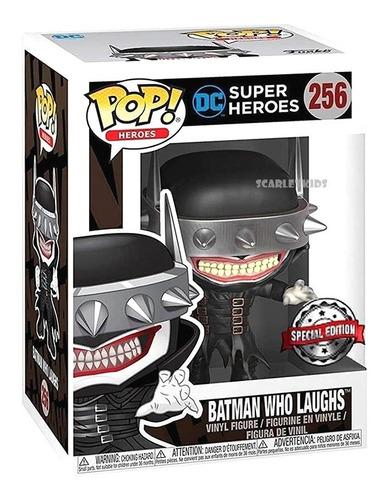 funko pop batman who laughs 256 special edition orig scarlet
