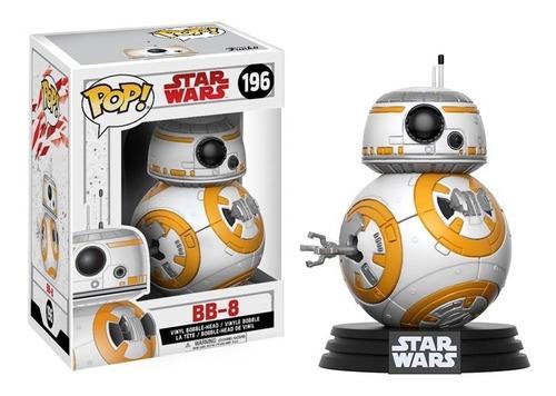 funko pop bb-8 droide star wars last jedi muñeco coleccion