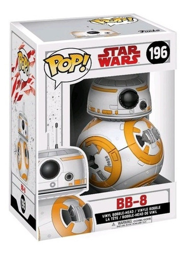 funko pop bb - 8 star wars 196 - minijuegos