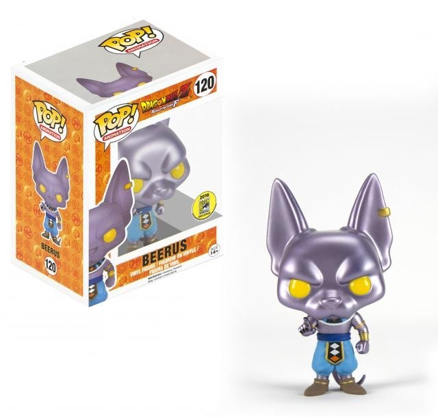 Funko Pop Beerus Dragon Ball Super Bills Sama God Comic