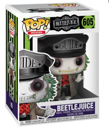 funko pop beetlejuice #605 original figura muñeco firewolf