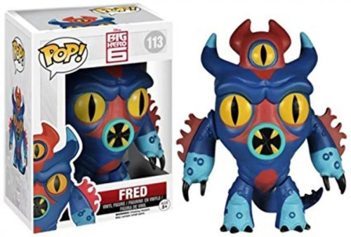 funko pop big hero 6 fred
