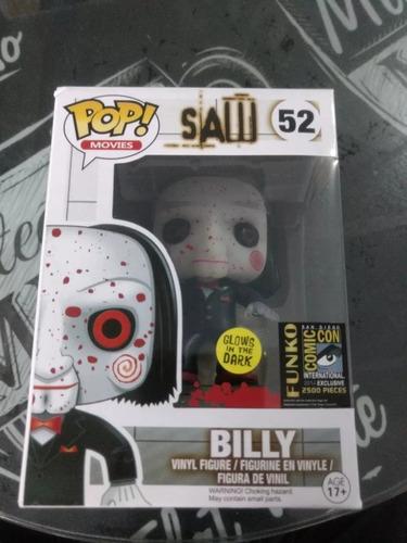 funko pop! billy saw 52 el juego del miedo