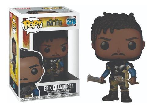 funko pop : black panther - erik killmonger #278