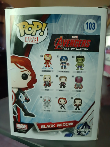 funko pop black widow vaulted
