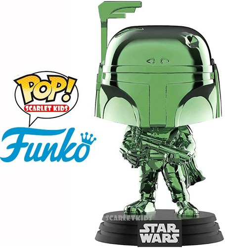 funko pop boba fett 297 edicion limitada star wars original