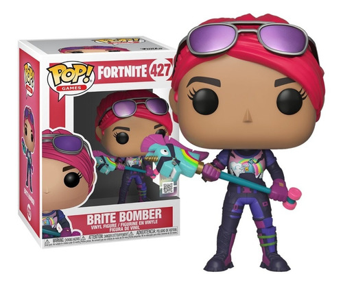 funko pop brite bomber 427 fortnite nuevo original!