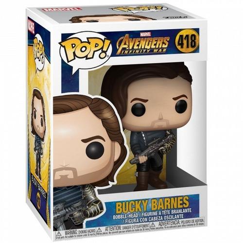 funko pop! bucky barnes #418 - avengers soldado del invierno