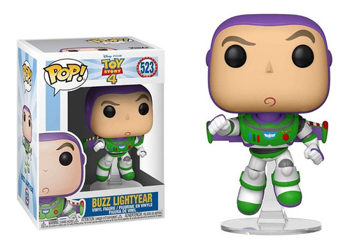 funko pop buzz lightyear #523 toy story 4 jugueterialeon