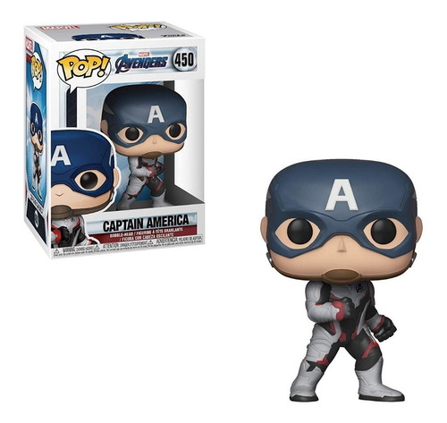 funko pop capitan america #450 avengers endgame regalosleon