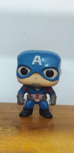 funko pop capitan america civil war/ sin caja