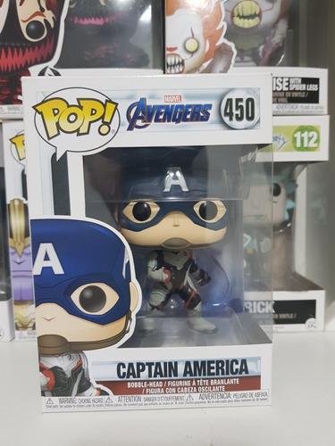 funko pop capitan america n° 450 - avengers