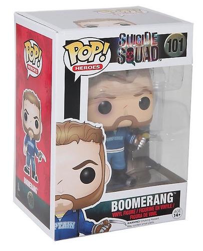 funko pop capitan boomerang suicide squad dc comics suicida
