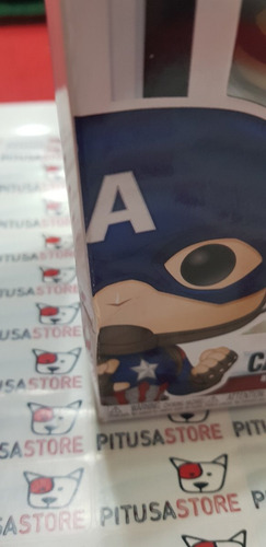 funko pop! captain america #464 hottopic exclusive endgame!