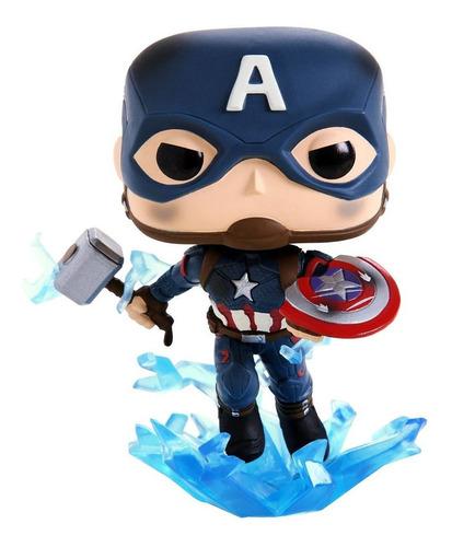 funko pop captain america 573 avengers endgame original - mj