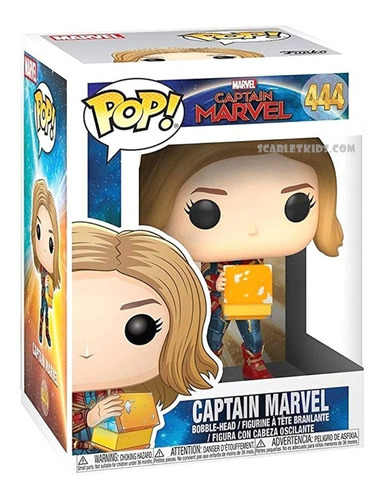funko pop captain marvel 444 glow orig funko scarlet kids
