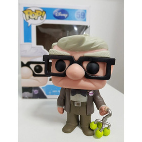 Funko Pop Carl, Do Filme Up! - Funko Pop Disney, Pixar