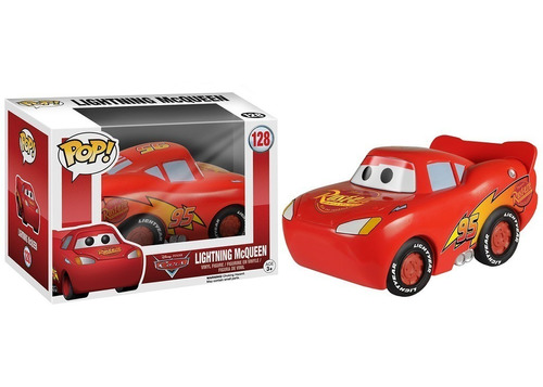 funko pop! cars - lightning mcqueen #128