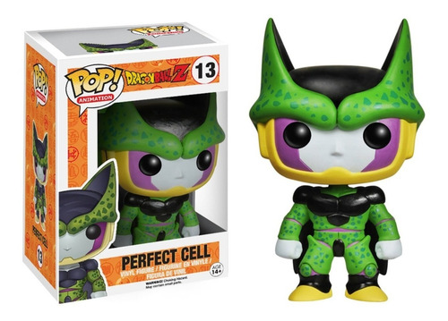 funko pop cell perfecto - dragonball z