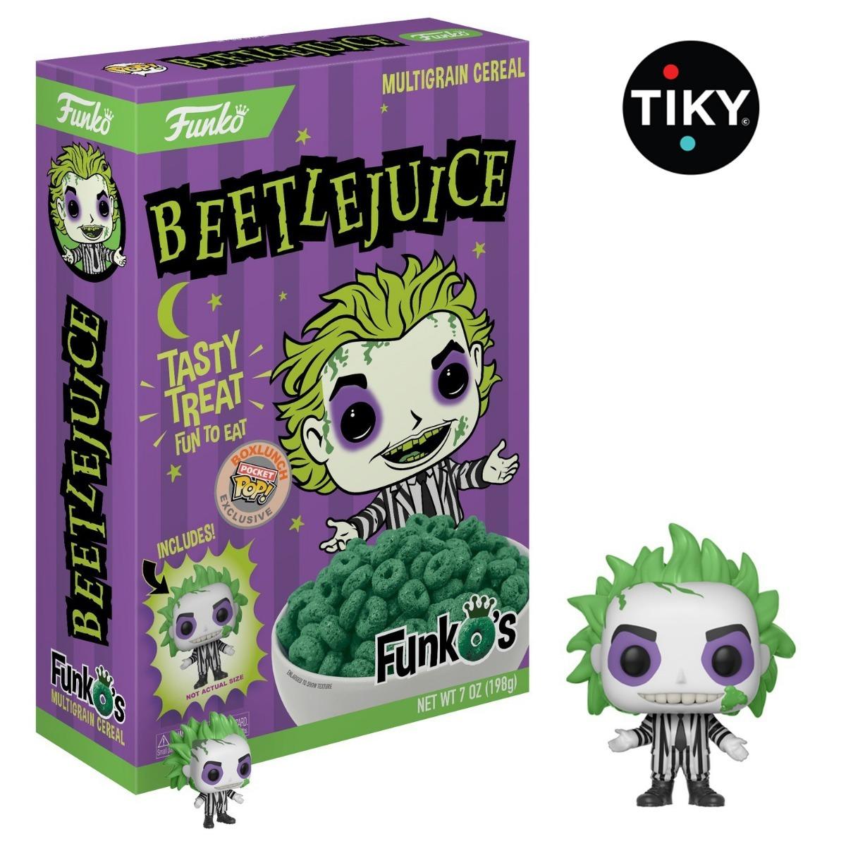 Funko Pop Cereal De Beetlejuice Exclusivo Funkos Pocket