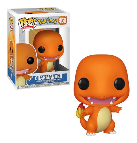 funko pop charmander pokemon # 455 * local balvanera