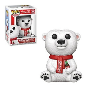 Funko Pop Coca-cola Polar Bear #58 Oso Polar Mascota