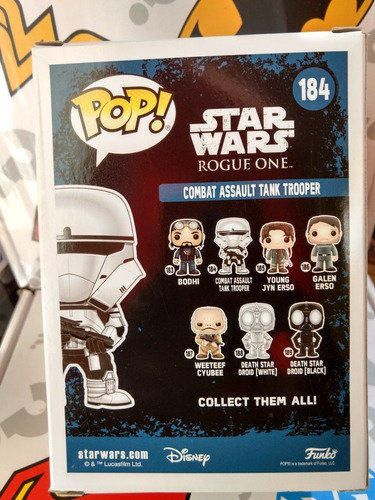 funko pop combat assault tank trooper star wars