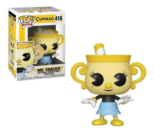 funko pop cuphead ms. chalice