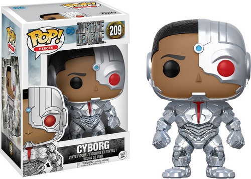funko pop cyborg 209 - dc justice league