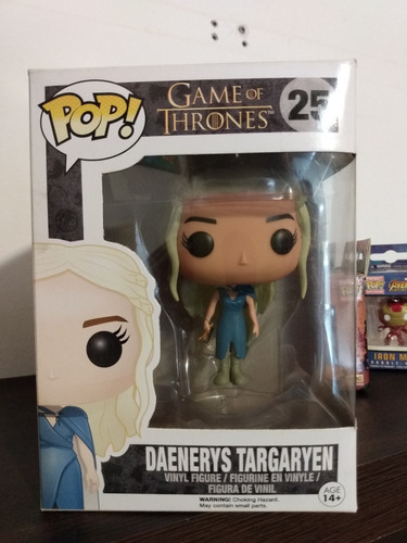 funko pop! daenerys targaryen 25- game of thrones